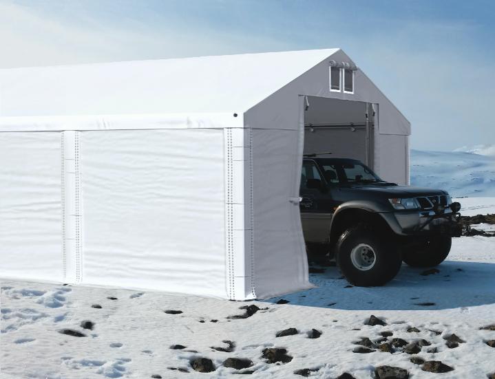 Палатка - гараж